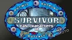 Survivor Fan Characters 18 Past vs