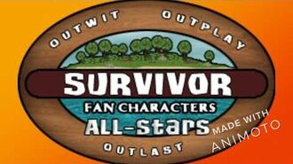 Survivor Fan Characters 6 All-Stars Intro Video
