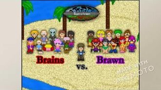 Survivor Fan Characters 2 Brains vs. Brawns Intro Video