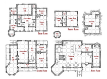 Trollskull Manor Floor Plan Marked