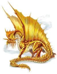 Gold Dragon 5e