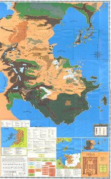 Kara-Tur Trail Map