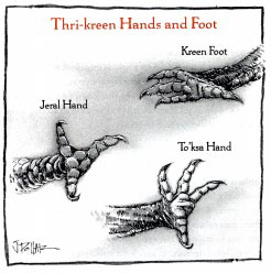 Thri-kreen Hands and Foot