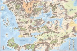 Forgotten realms map full