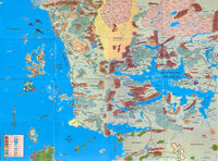 Map - Faerun - 2E
