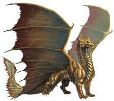 Brass Dragon 5e