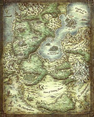Feywild map
