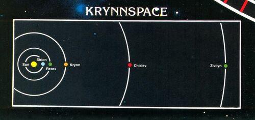 Krynnspace system