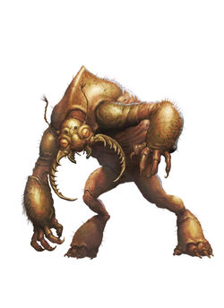 Monster Manual 5e - Umber Hulk - p292