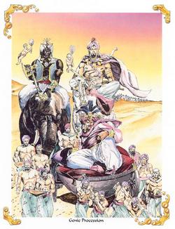 Genie Procession