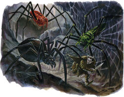 Monstrous Spiders