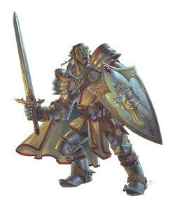 Wallpaper Race Half-Orc