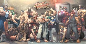 Street Fighter2 Street Jam by UdonCrew