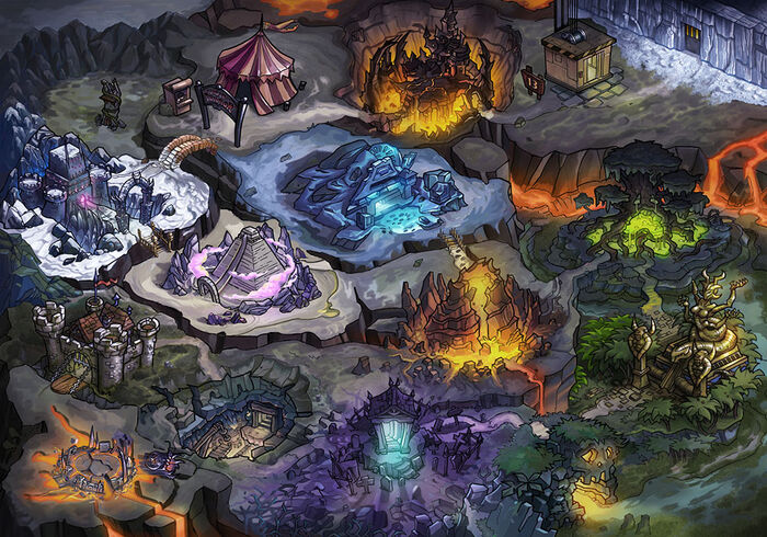 Dungeons Schatten