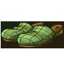 Pantoffeln des Helden