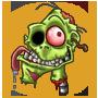 Ruediger der sprechende Zombiekopf
