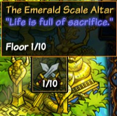 The Emerald Scale Altar