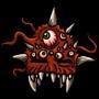 Gehörnter Dämonenhelm