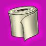 Episches Toilettenpapier der aeberlegenheit