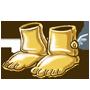 Goldene Klumpfuesse des Hedonisten