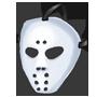Schaurige Hockeymaske des Gestoerten
