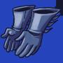 Handschuhe des Fledermausmannes