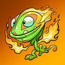 Pet Feuer Pyroplant