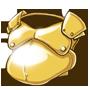 Goldener Fettwanst des Hedonisten