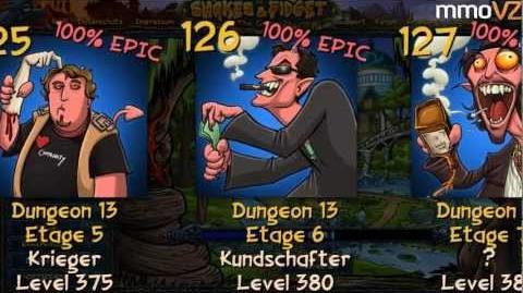 Let's Play Shakes and Fidget 100 - ALLE DUNGEONS, DUNGEON ETAGEN, BOSSE, SCHLÜSSEL, EPICS
