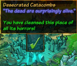Desecrated Catacombs