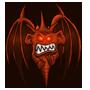 Diabolisches Schutzteufelchen des Satanisten