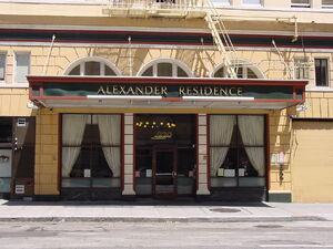 Alexander Residence detail