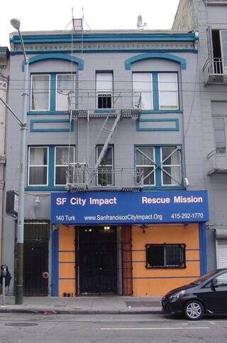 Rescue Mission on Turk Street