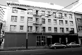 Bristol Hotel Mason Street side