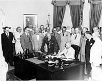 200px-Truman signing National Security Act Amendment of 1949
