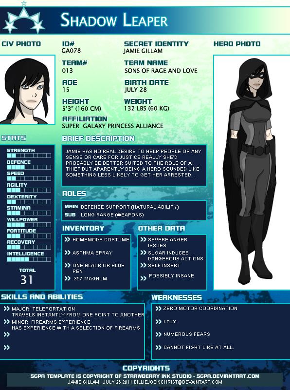 Shadow Leaper Profile