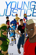 Young Justice poster with Shizuka