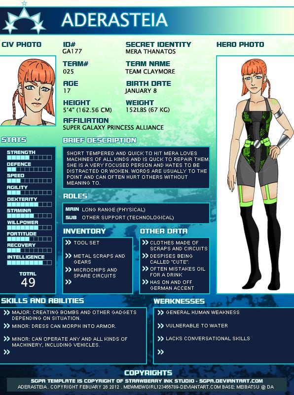 ADERASTEIA-Profile