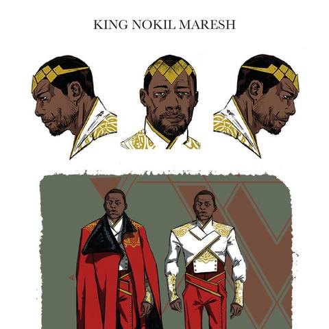 Nokil's character design.