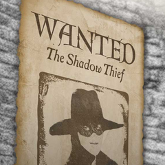 Lila as the Shadow Thief on a