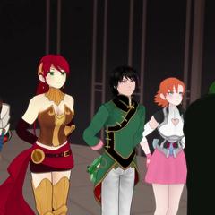 Team JNPR, Jaune, Nora, Pyrrha, Ren