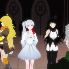 Team RWBY, Ruby, Weiss, Blake, Yang