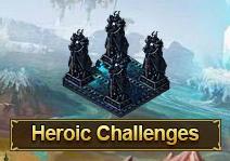 Heroic challenge