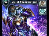 Violet Thunderstorm