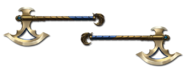 Weapon imhotep axes