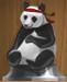 Karate Panda (Silver)