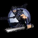 Ninja man swords