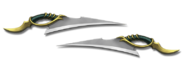 WEAPON C2 Z5 DRAGON KNIVES