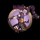 Ninja girl nunchaku