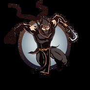 Ninja man claws